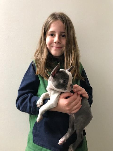 Gideon (the dog!)